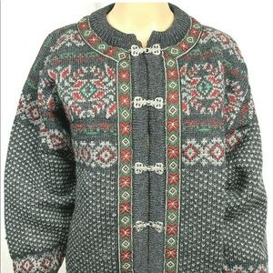 Sweaters - Dale of Norway sweater size small multi-color